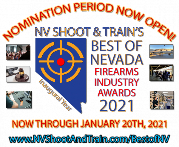 Nomination Period Now Open for the Best of Nevada Firearms Industry Awards