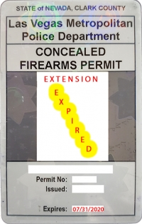 NvSCA on the Current State of Nevada's CCW Extension: No Longer in Effect